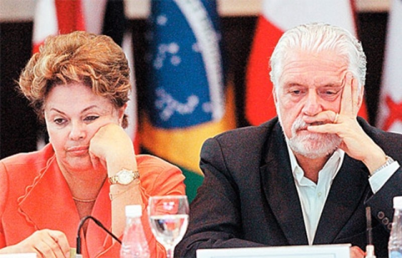 dilma e wagner