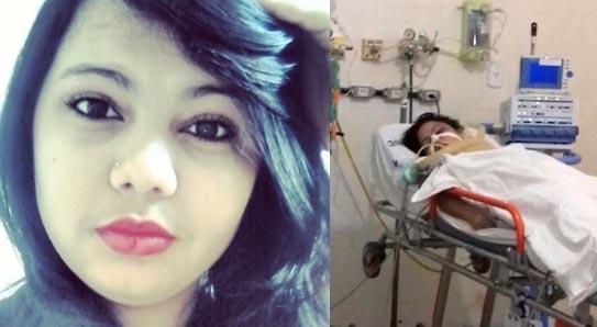 Jessica hospitalizada